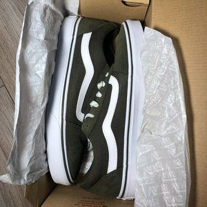 Vans Olive Green/Army Green Womens in 10 & 6.5